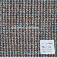 Disponible en stock tela escocesa de lana para chaqueta y abrigos de invierno