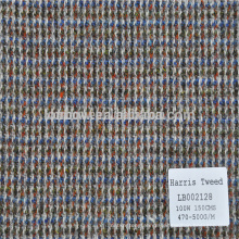 Available in stock wool plaid fabric for jacket and winter coats