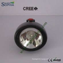 IP68 2800mAh 5W CREE LED Mining Helmet Light