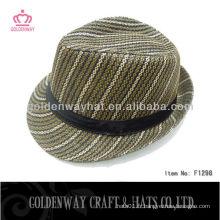 Chapeau en papier à chapeau Fedora pour homme