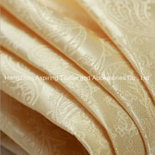 Jacquard Woven 100% Polyester Curtain Fabric