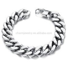 2015 Nouvelle personnalité dominatrice pour mettre en évidence le bracelet en acier titane en acier à mode de mode pour hommes ne s'efface pas GS720
