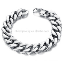 2015 New domineering personality to highlight men's fashion wear jewelry titanium steel bracelet does not fade GS720