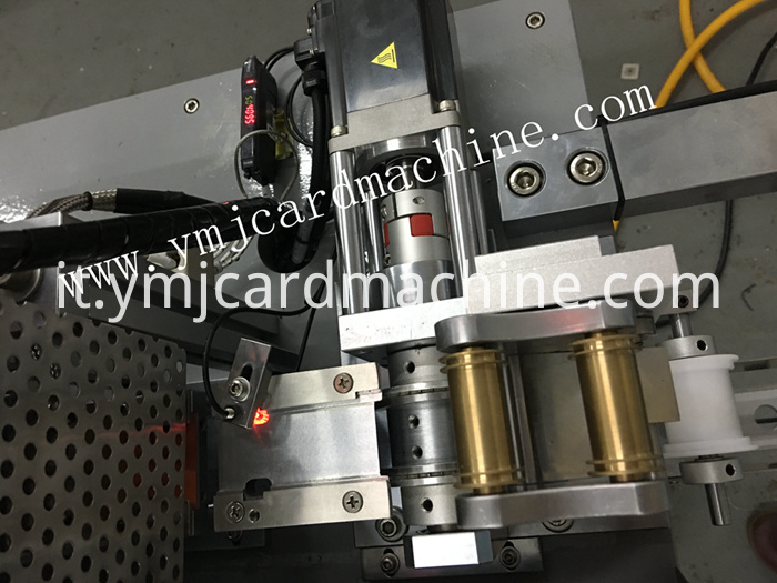 Detail of Glue Lamination Machine