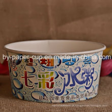 Descartável Ice Cream Paper Bowl