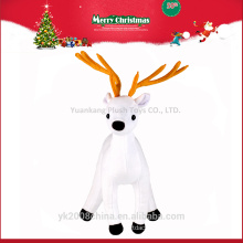 YK ICTI Custom China plush reindeer elf toy