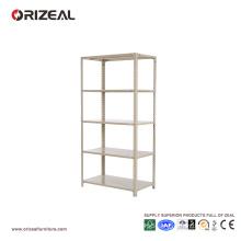 5 tier light duty warehouse rack metal storage shelf