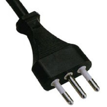 Italy Standard IMQ three pin power cables