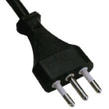 Италия Стандартный сертификатами imq трех контактный кабель питания
