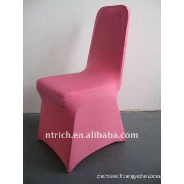 housse de chaise en spandex rose / rose vif, CTS688, pour toutes les chaises