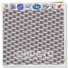 Tela de malla de aire 3d, tejido de punto de urdimbre 100% poliéster, YT-0955