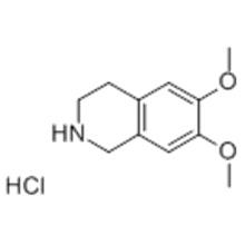 6,7-Dimethoxy-1,2,3,4-tetrahydroisoquinoline hydrochloride CAS 2328-12-3