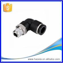 Fio de 1/4 '' para 8 mm Empurre para ligar o cotovelo Fusível pneumático PL