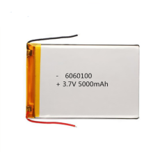 6060100 3.7v 5000mAh li-ion polymer battery