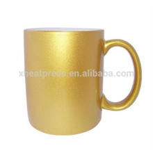 Best Quality Golden Coated mug for Sublimation