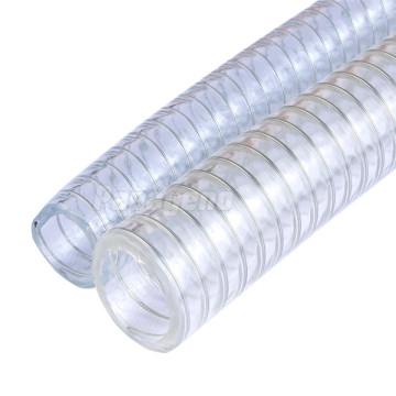 Manguera de descarga de agua de PVC reforzado con alambre de 3 pulgadas