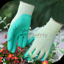 SRSAFETY 13G nylon liner foam latex glove work glove working protective gloves