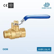 Iron Handle 1/2′′-2′′inch Brass Male Ball Valve