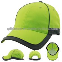 Capuchon de baseball à haute visibilité 100% polyester haute visibilité en plein air (TMB0682)