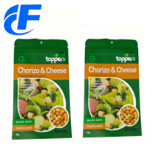 Digital Printing Snack Food Packaging Bags With Zipper