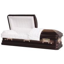 Coin rond 18 Gauge Princeton acier cercueil