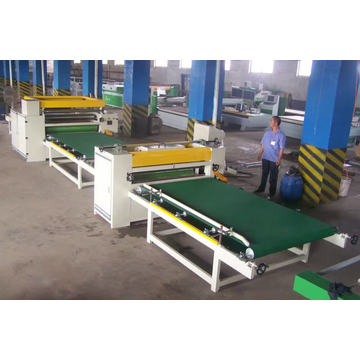 Woodworking Automatic Paper Sticking Line