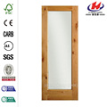 Puerta Interior pino completo Lite cristal Reed