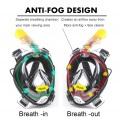 Máscara de snorkel de cara completa con certificado CE