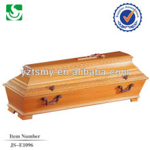 wholesale handcraft new larch coffin