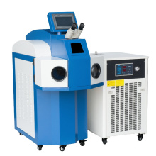 Hot Sale Double Cabeças Exchangeble máquina de solda a laser