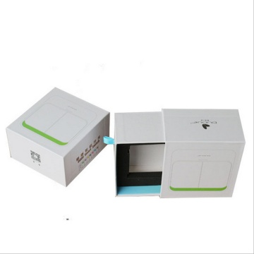 Drawer paper gift box with EVA insert