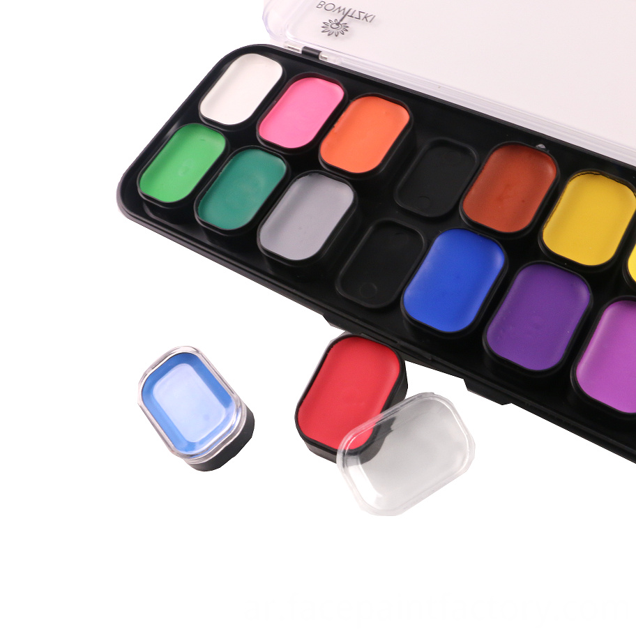 18 Color Face Paint 2