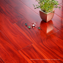 Random Length Smooth Acacia Solid Wood Flooring Indoor