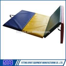 Four Folding Fitness Exercise equipment Mat (gymnastic beam mat or bar mat)
