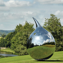 2018 new design park decoration metal abstract outdoor sculpture