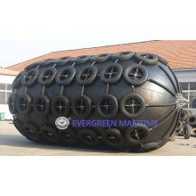 Yokohama-pneumatischer aufblasbarer Marinefender-Gummischlauch für Schiff zum Schiff, Schiff zur Quay-Übertragung kombinierte mit ISO 17357: 2014