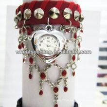 2013 novo relógio pulseira com acessórios de moda JW-24