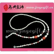 Chaîne de perle faite main de bijoux de mode pour des lunettes de soleil
