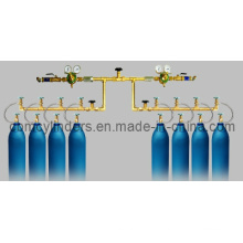Manual Gas Manifold for Hospitals Using