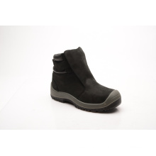 New Designed Nubuck Leather Safety Shoes (HQ8003)