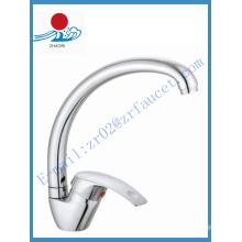 Robinet d'eau de mélangeur de cuisine à une poignée (ZR21409)