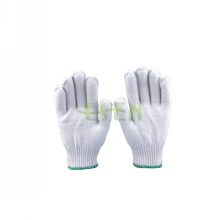 2016 Hot Sale Winter Knitted Cotton Safety Glove of Different Grams