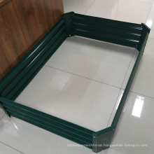 Vegetables Grow Galvanized Steel Garden Planter Raised Bed