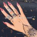 Mysterious henna stencil sticker for bride,henna sticker tattoo in YinCai