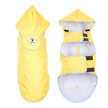 Veste imperméable pour chien à capuche résistante à l'eau
