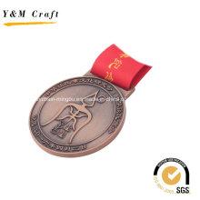 Médailles personnalisées en alliage de zinc bronze Ym1167