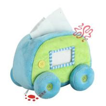 Brinquedo de pelúcia caixa de tecido