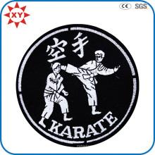 Insigne fait sur commande de broderie de judo de machine d'approvisionnement d'usine