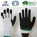 Gants de travail de sécurité en couche de nitrure et de nitrile (SL-NS119)