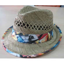 2016 Fashion Girl Straw Hat Summer Hat (SW-080001)